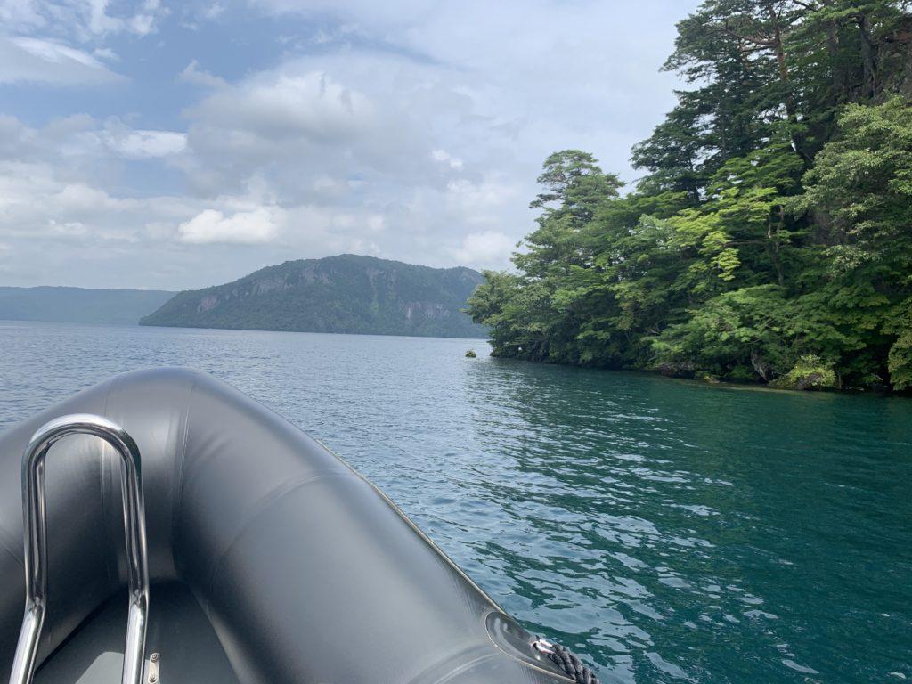 船から見える風景